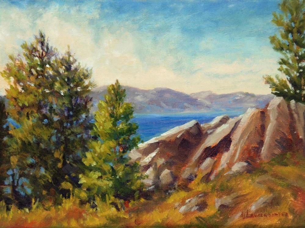"""OUT CROPPING - TAHOE"" original fine art by Dj Lanzendorfer"