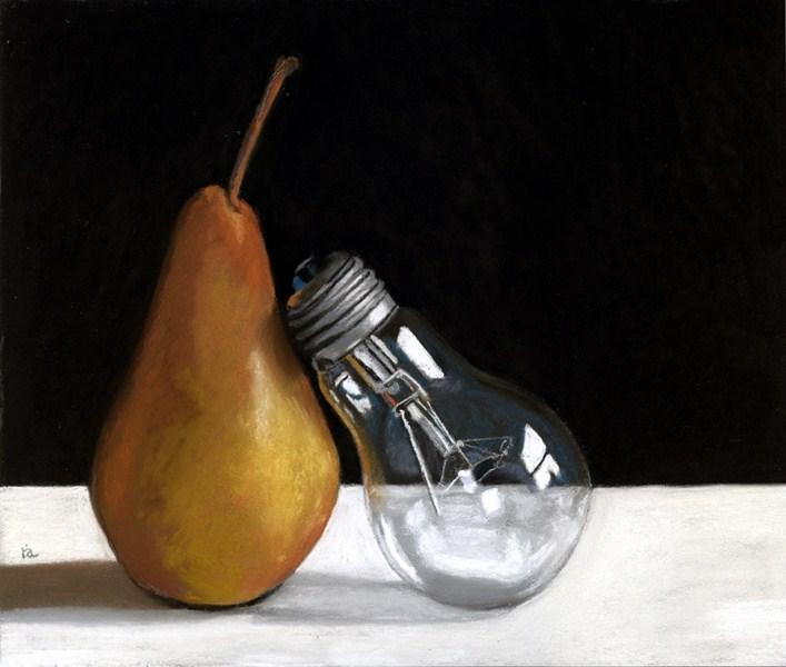 """A Pair"" original fine art by Ria Hills"