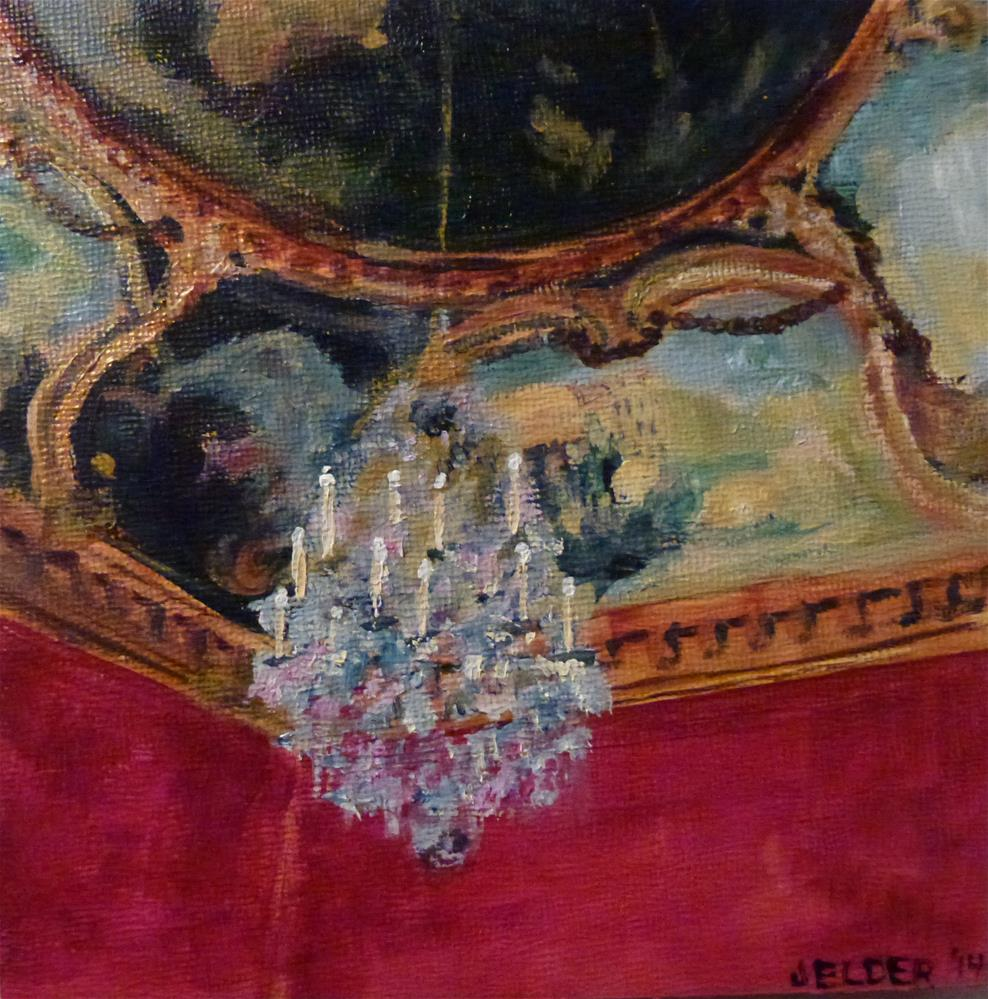 """Louvre No. 8"" original fine art by Judith Elder"