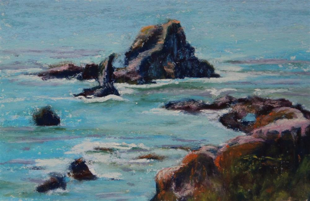 """Rocky Beauty"" original fine art by Sharon Lewis"