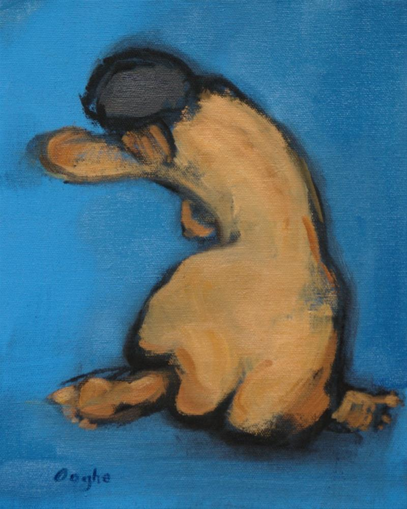 """Nude Back"" original fine art by Angela Ooghe"