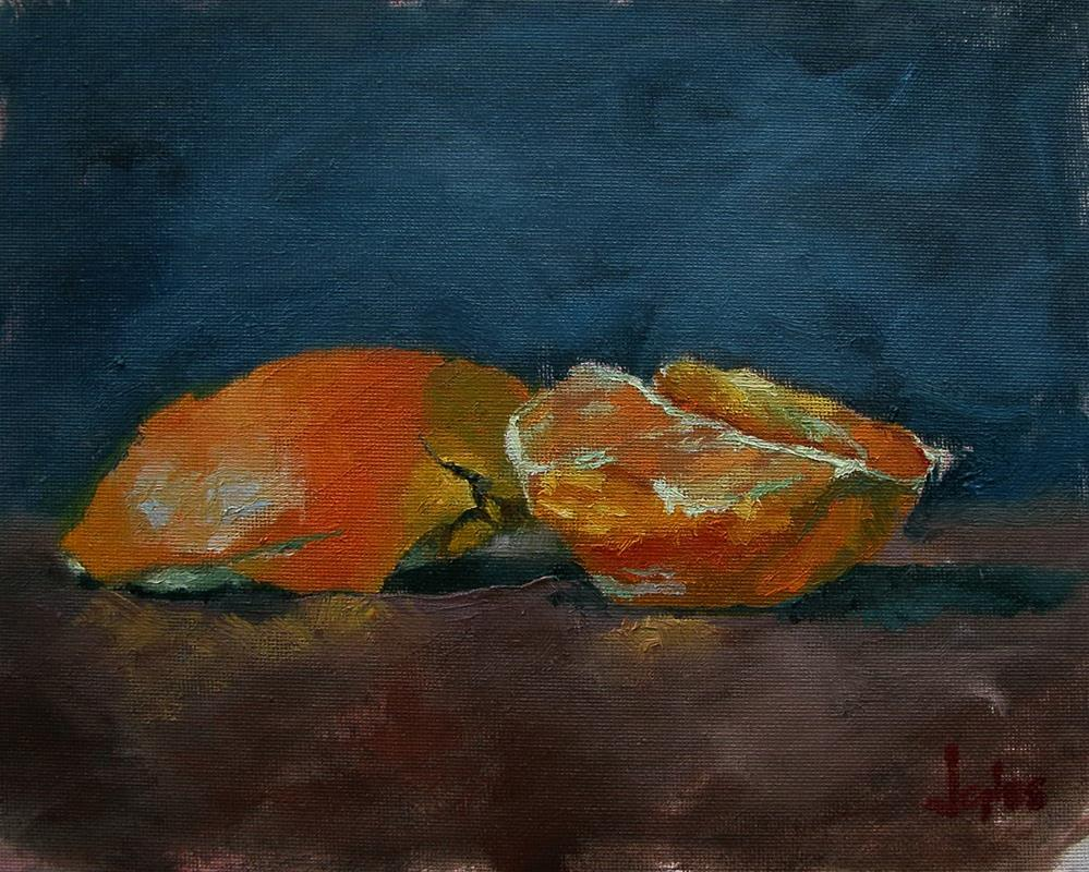 """Orange"" original fine art by Richard Jones"