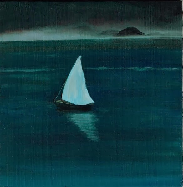 """Sail Away"" original fine art by Karen Stitt"