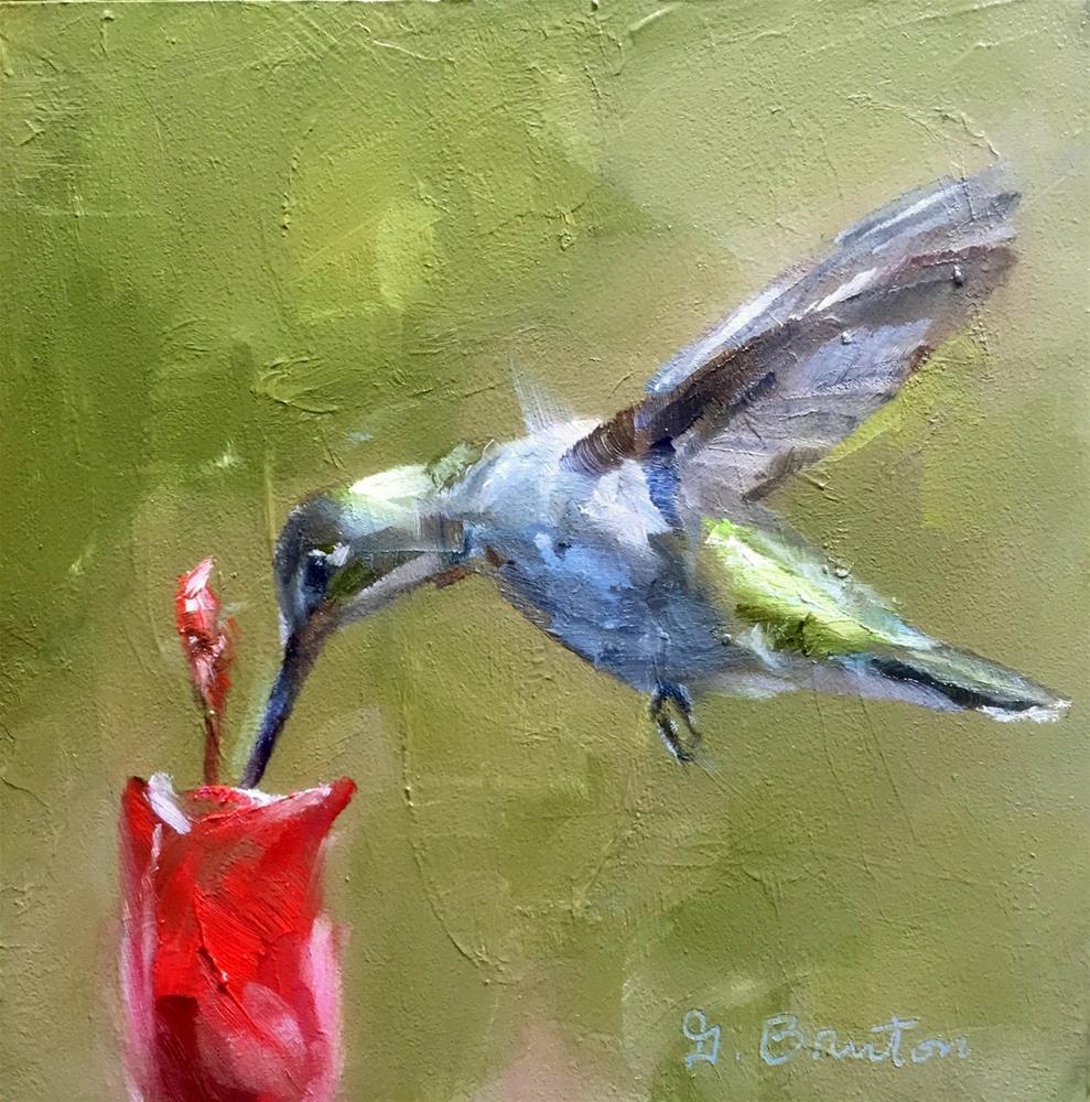 """Sip"" original fine art by Gary Bruton"