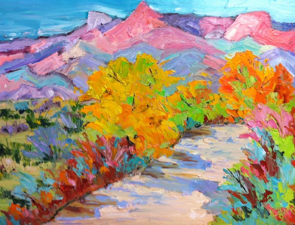 """Big Bend Fall"" original fine art by Liz Zornes"
