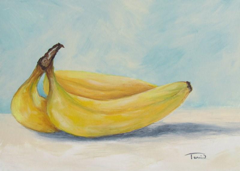"""""""Bananas V"""" original fine art by Torrie Smiley"""