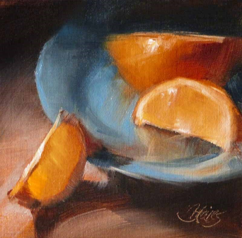 """Last Minute Snack"" original fine art by Pamela Blaies"