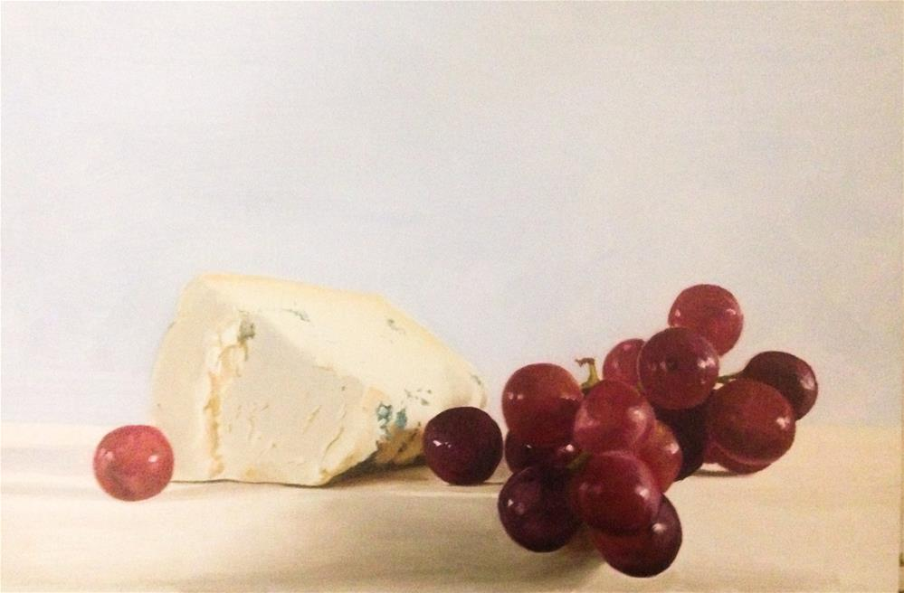 """Stilton and Grapes"" original fine art by James Coates"
