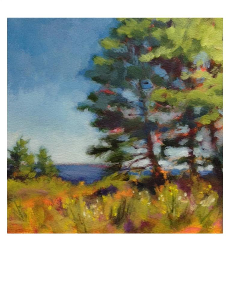 """Monhegan Magic"" original fine art by Suzanne Woodward"