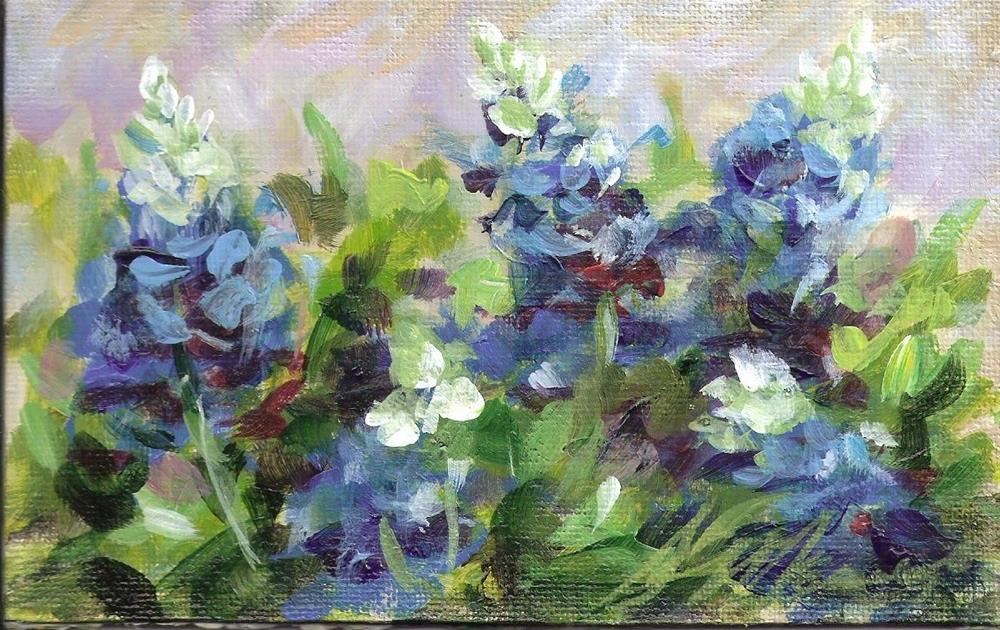 """field of dreams"" original fine art by Susie Monzingo"