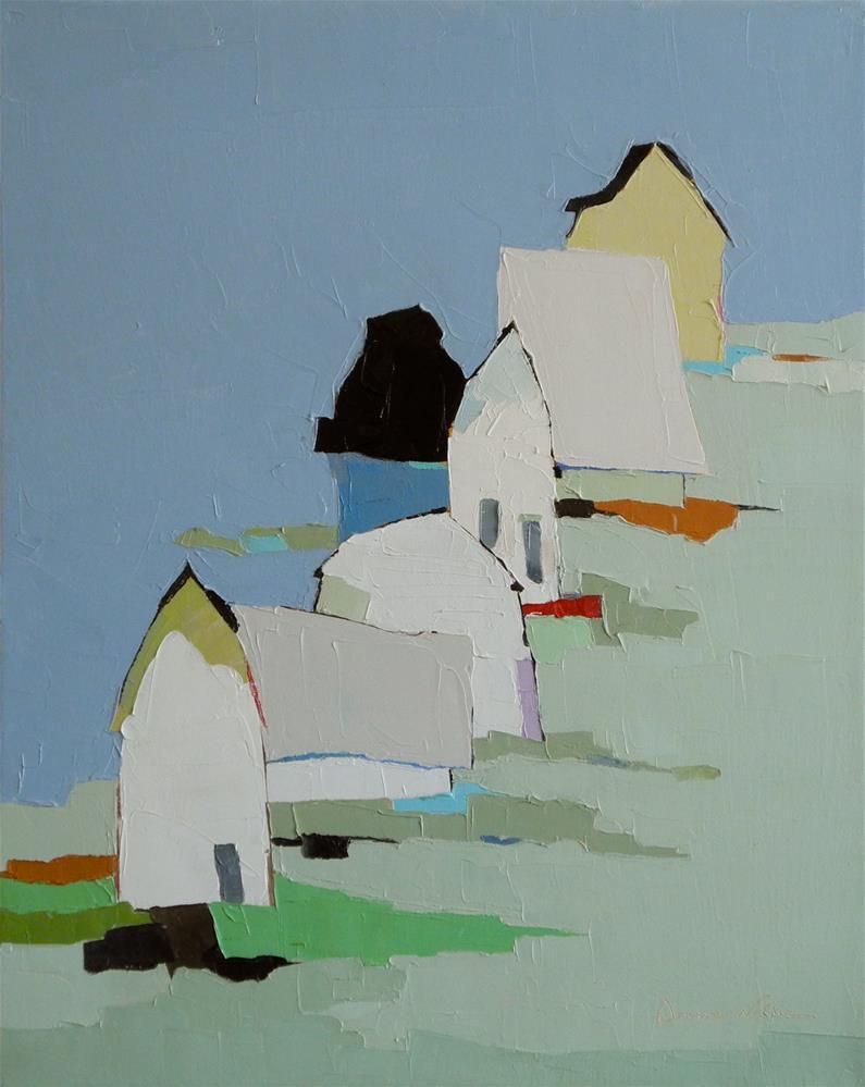 """Land's End"" original fine art by Donna Walker"