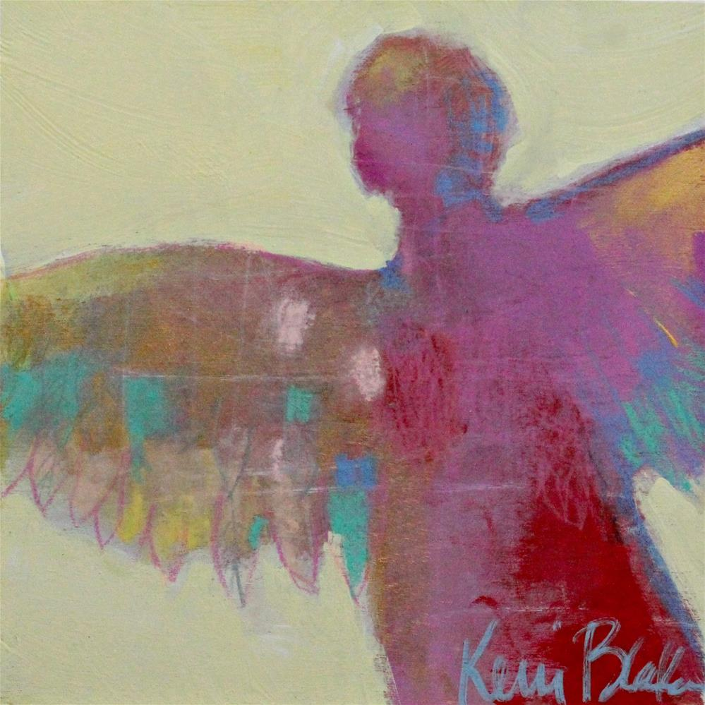 """Little Angel "" original fine art by Kerri Blackman"