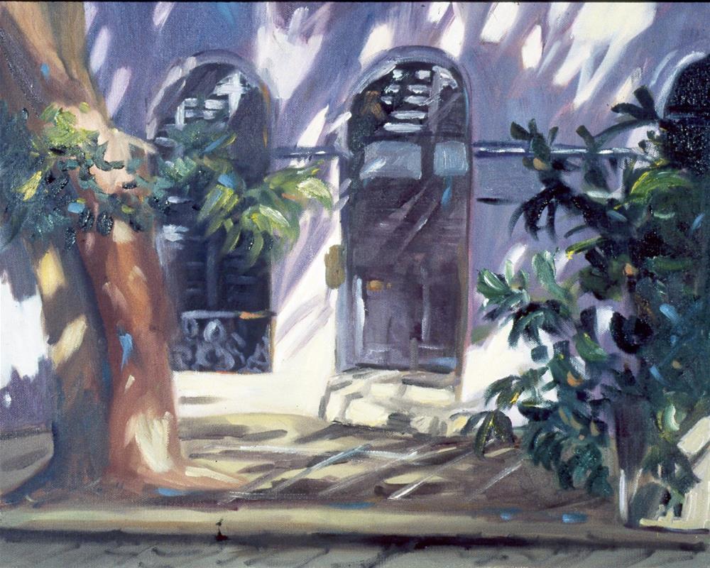 """San Juan Doors"" original fine art by Carol Cochran"