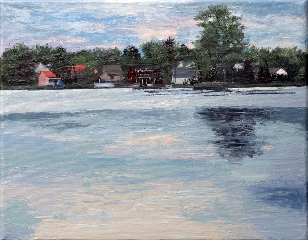 """Thompson Lake"" original fine art by Andrea Jeris"