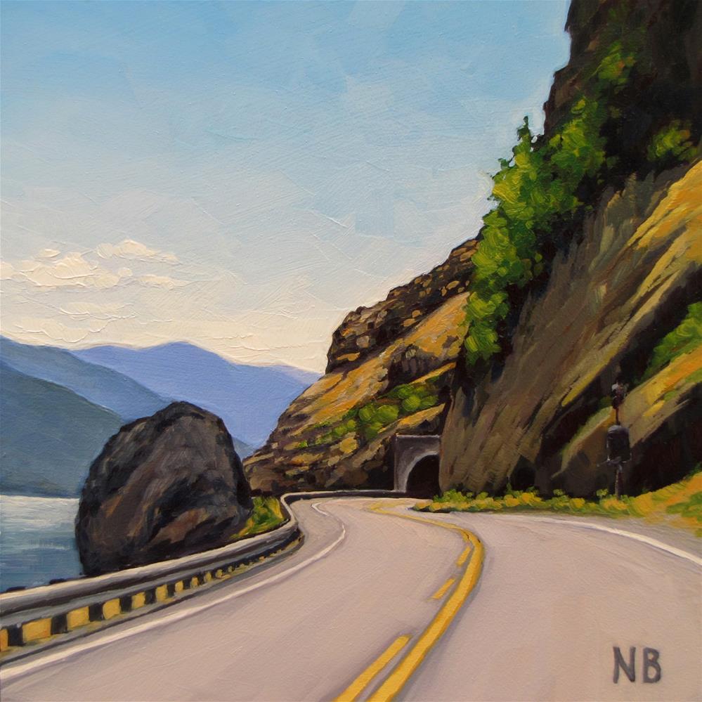 """Tunnel Vision"" original fine art by Nora Bergman"