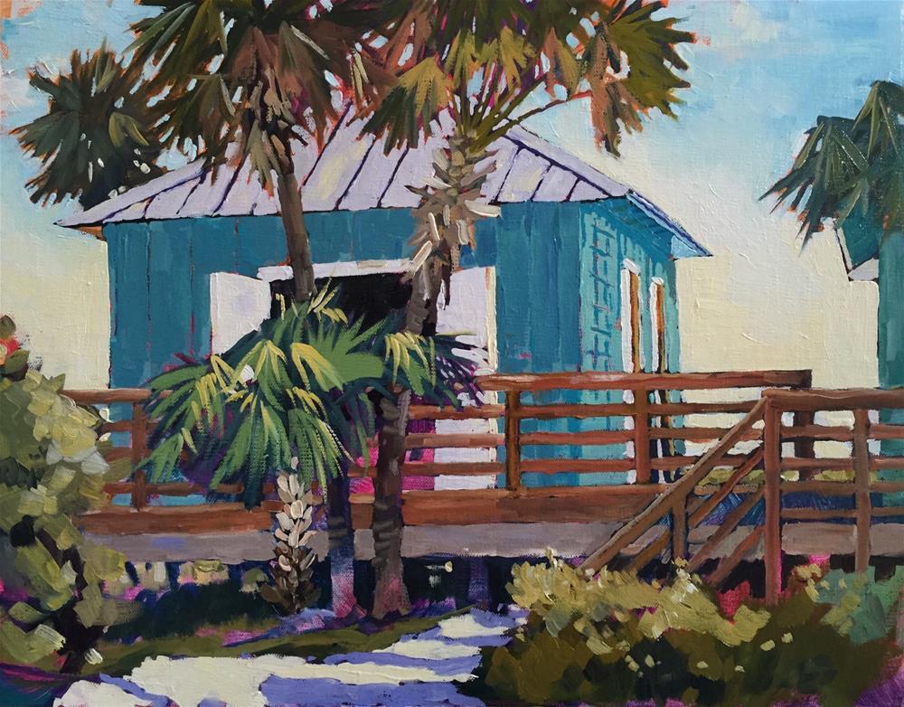 """""""Jensen Beach"""" original fine art by Carol Baehren Landeweer"""
