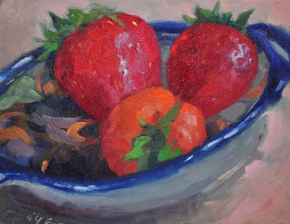 """Talavera 6x8, oil on canvas"" original fine art by Emiliya Lane"