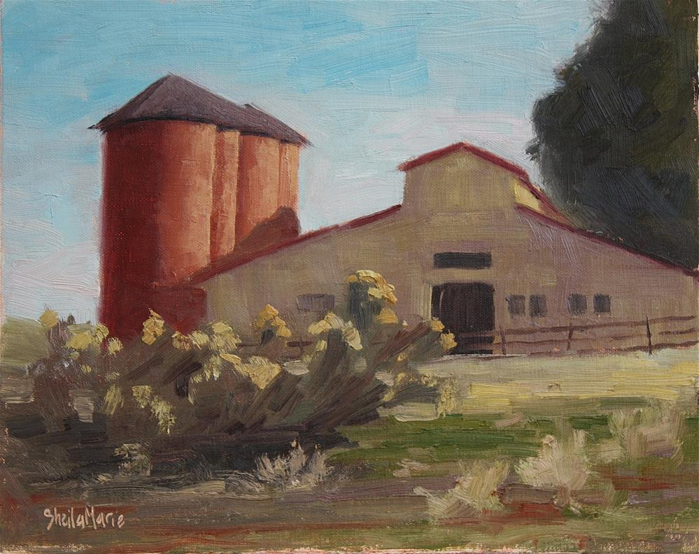 """Venneford Ranch"" original fine art by Sheila Marie"