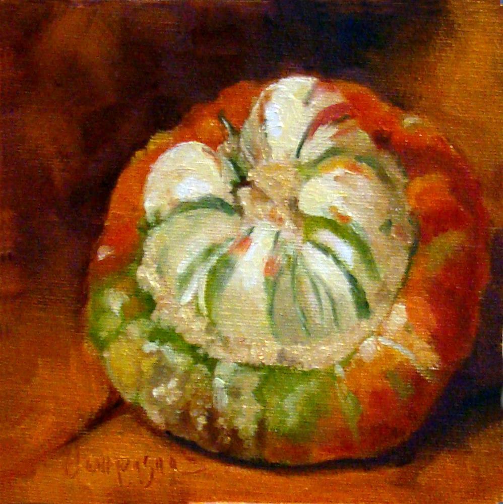 """""""Turban Squash"""" original fine art by Roseanne Campagna"""