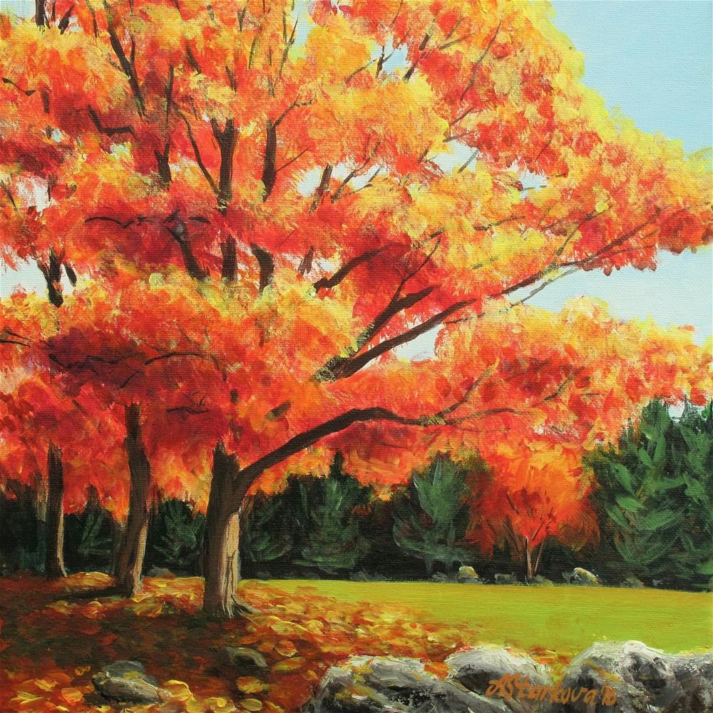"""Bright new day"" original fine art by Anna Starkova"