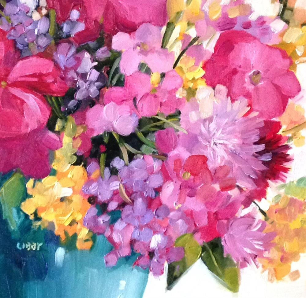 """Flora"" original fine art by Libby Anderson"