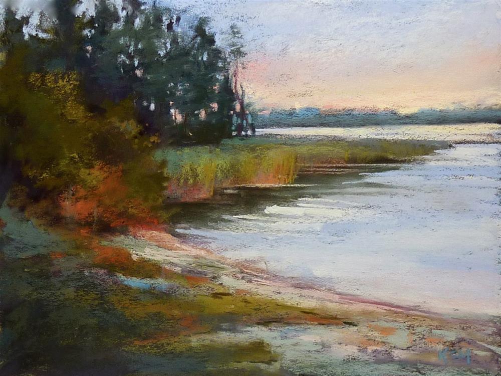 """""""Painting My World Art Adventure: Pastel Workshop in Finland"""" original fine art by Karen Margulis"""