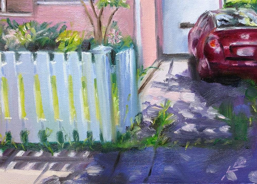 """Home"" original fine art by Linda Lowery"
