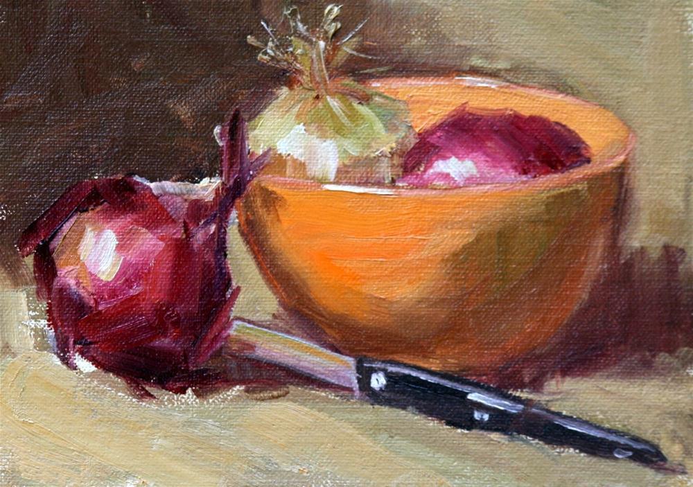 """""""chaste"""" original fine art by Carol Carmichael"""