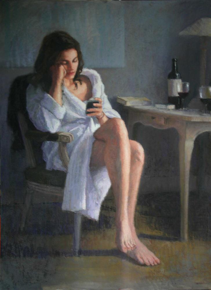 """""""Sojourn"""" original fine art by Liz Balkwill"""