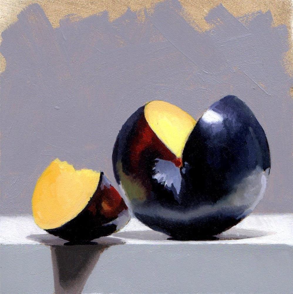 """""""#363 Just A Slice"""" original fine art by Brian Burt"""