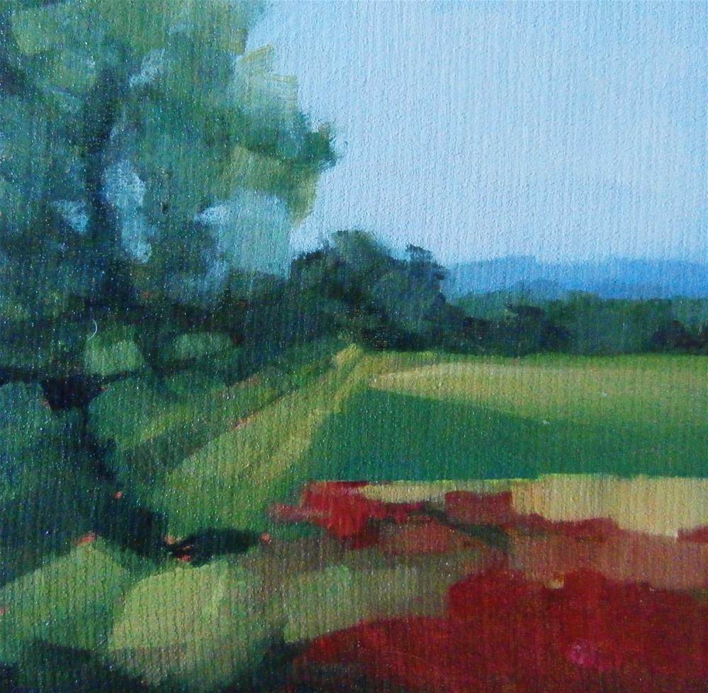 """""""Poppy Field"""" original fine art by Anne Wood"""