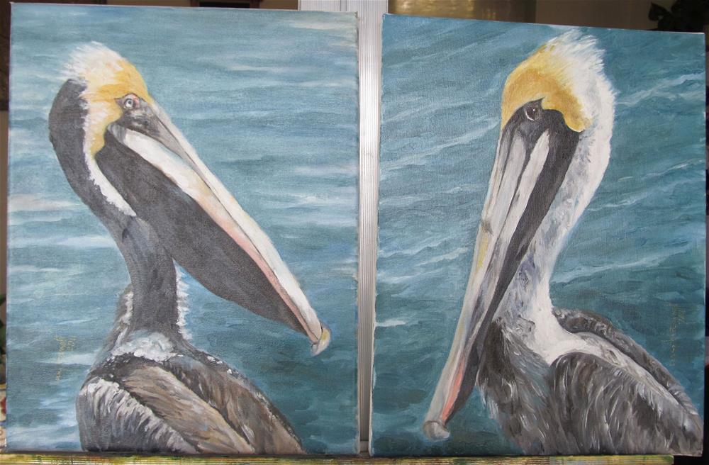"""Either - Or"" original fine art by Lucy Hammett"