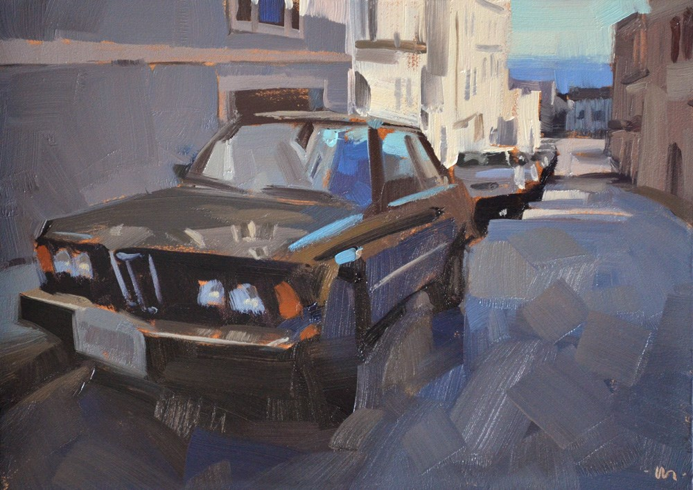 """""""Reflecting San Francisco"""" original fine art by Carol Marine"""
