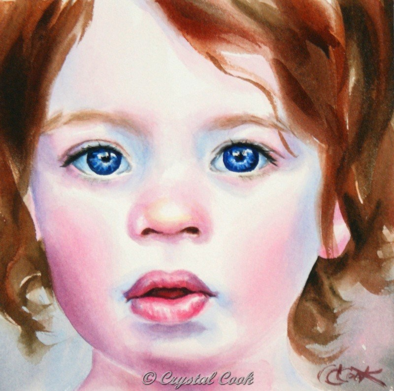 """Unawares"" original fine art by Crystal Cook"