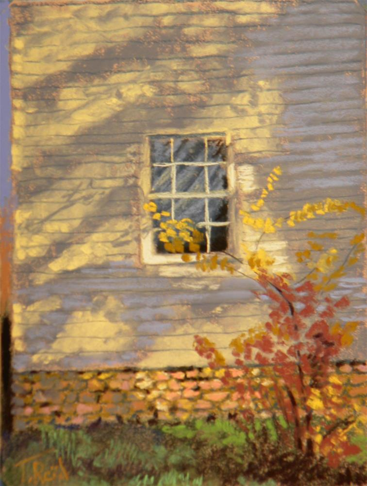 """Window in the shadow"" original fine art by Toby Reid"