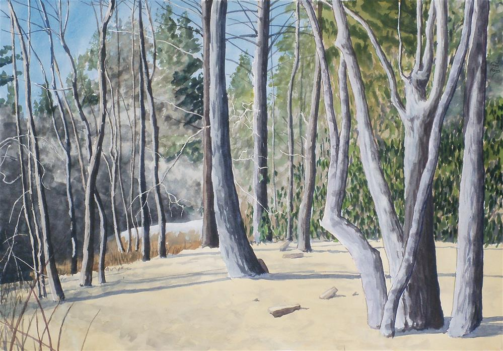 """Alluvial Sand"" original fine art by Greg Arens"