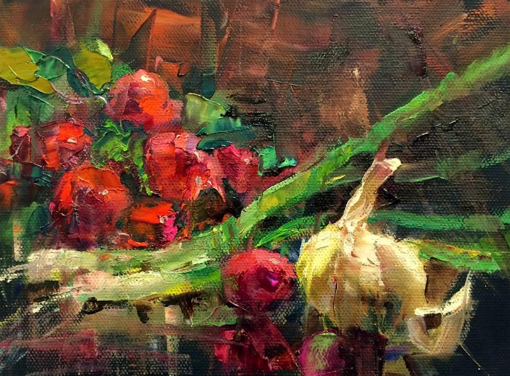 """""""Workshop Demo and Artist's Work."""" original fine art by Julie Ford Oliver"""