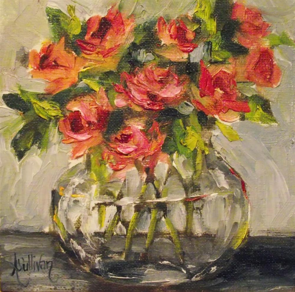 """A Delicate Bunch by Alabama Artist Angela Sullivan"" original fine art by Angela Sullivan"