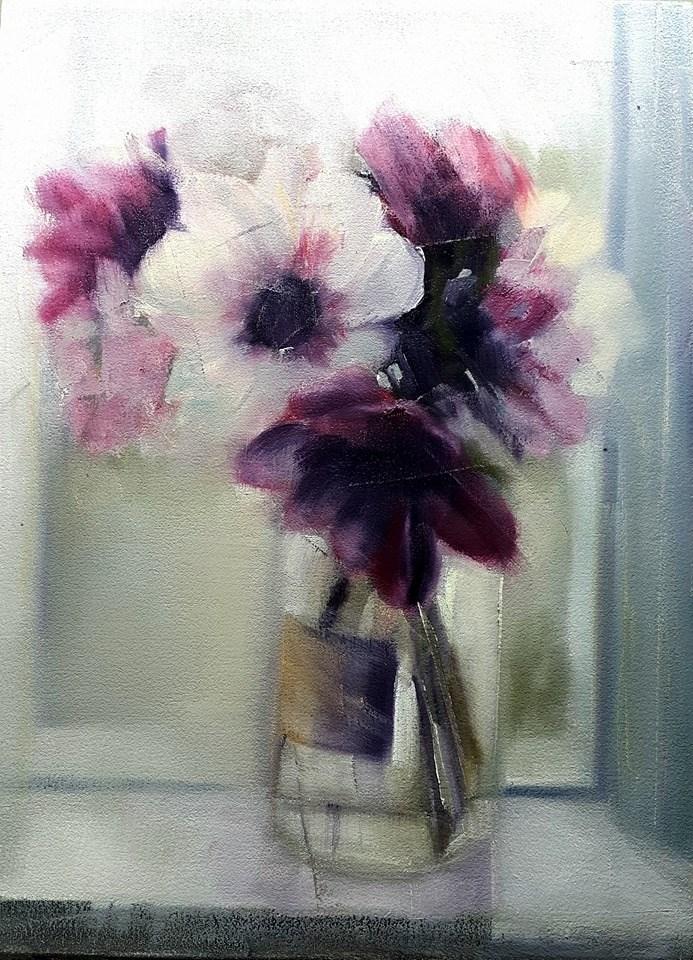 """Loving the light"" original fine art by Rentia Coetzee"