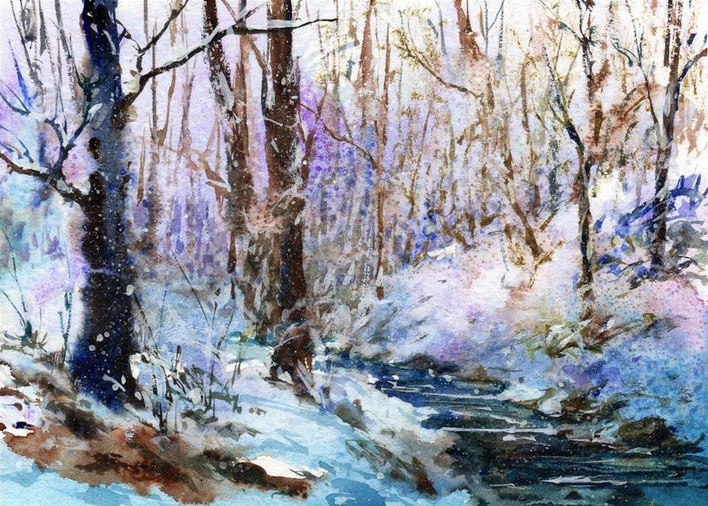 """Fairyland"" original fine art by Linda Henry"