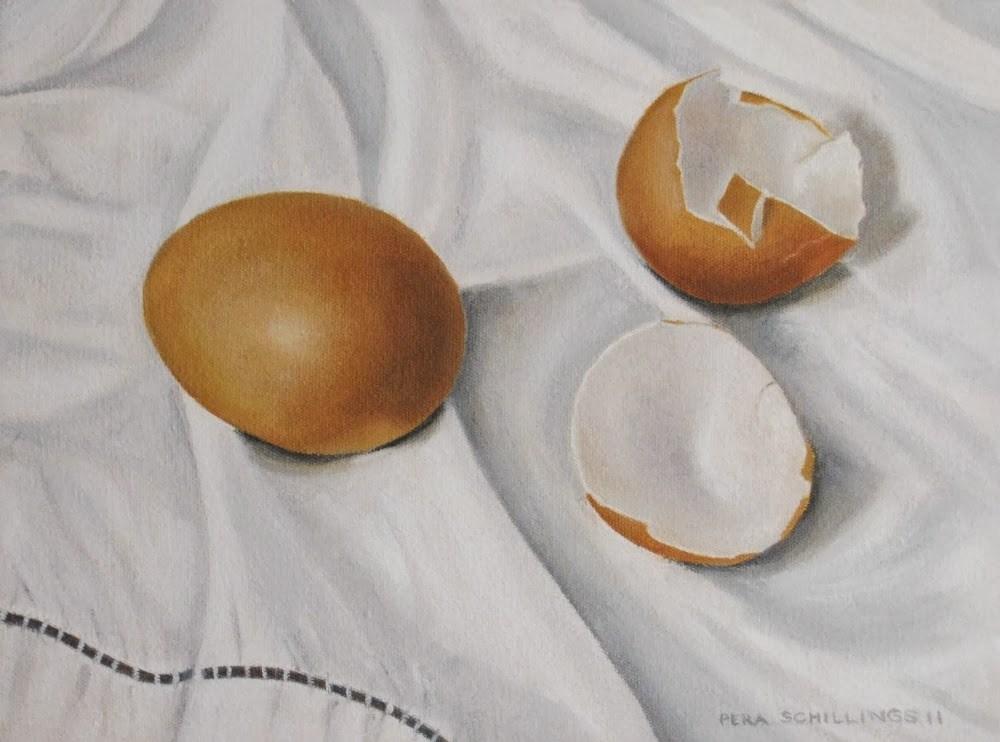 """Egg Mania XII"" original fine art by Pera Schillings"