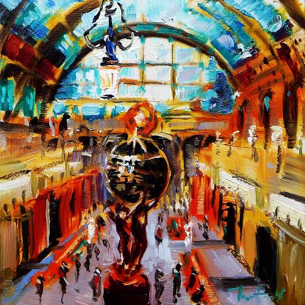 """Musée d'Orsay"" original fine art by Jurij Frey"