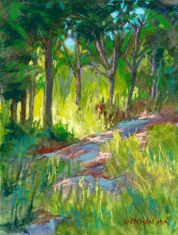 """Park Trail #31"" original fine art by Rita Kirkman"