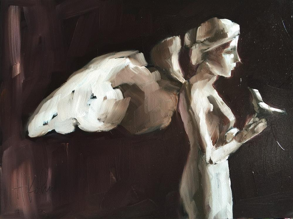 """You're an Angel"" original fine art by Hallie Kohn"