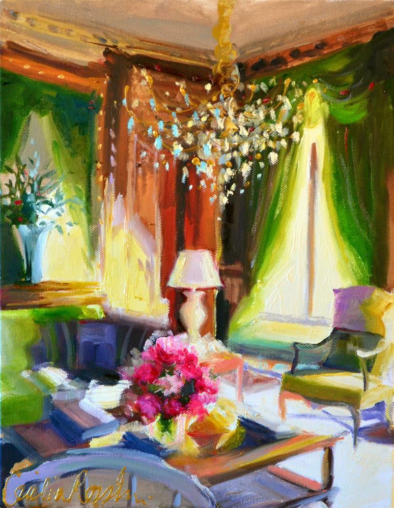 """GROEN GORDYNE"" original fine art by Cecilia Rosslee"