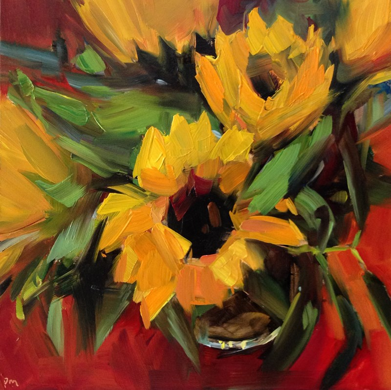 """Sunshine Bouquet"" original fine art by Patti McNutt"