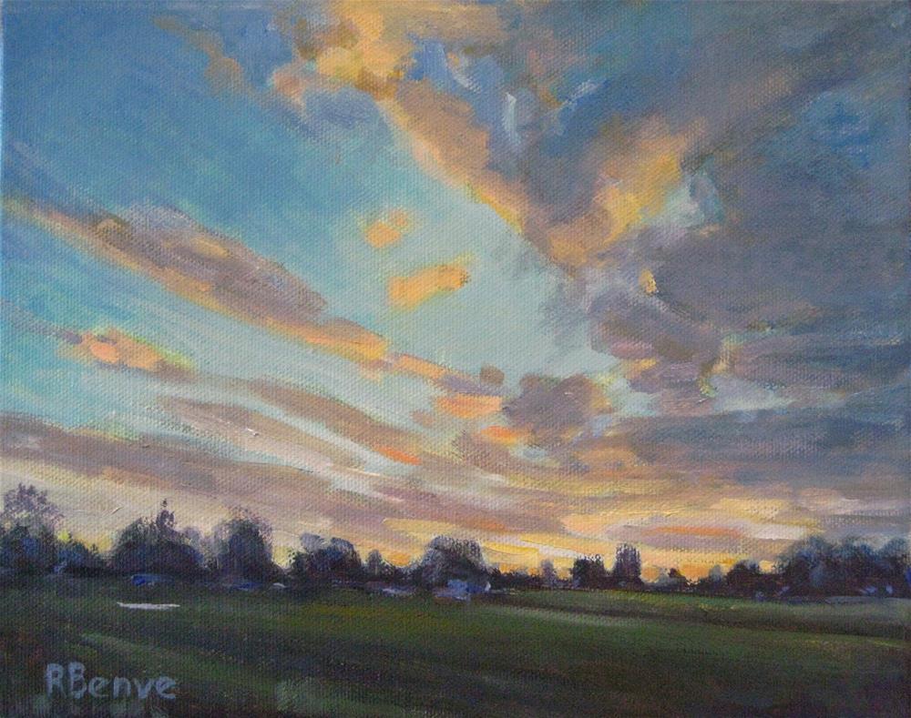 """After the Rain"" original fine art by Robie Benve"