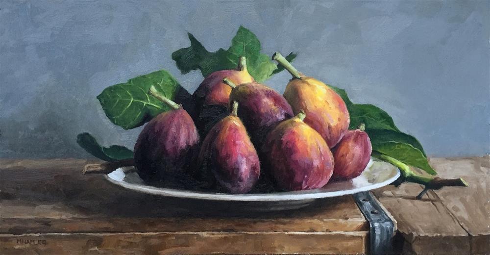 """Fig Platter"" original fine art by Michael Naples"