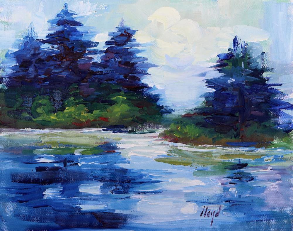 """""""Silhouettes"""" original fine art by Diane Lloyd"""
