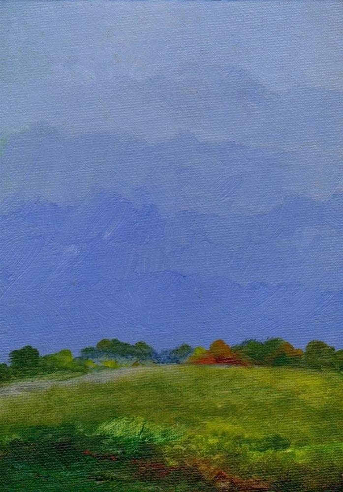 """rain"" original fine art by Vova DeBak"